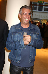 """Fashion designer RIFAT OZBEK at a party hosted by Christopher Bailey to celebrate the launch of """"The Snippy World of New Yorker Fashion Artist Michael Roberts"""" held at Burberry, 21-23 New Bond Street, London on 20th September 2005.<br /><br />NON EXCLUSIVE - WORLD RIGHTS"""