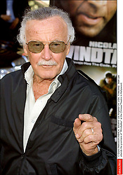 © Giulio Marcocchi/ABACA. 35539-4. Los Angeles-CA- USA. 11/06/2002. Stan Lee attends the premiere of Windtalker at the Chinese Theatre in Hollywood.
