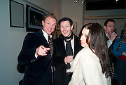 GARY KEMP; NICK MORAN; LAUREN KEMP, Out Of Context - private view of photographs by Lorraine Goddard. Getty Images Gallery, 46 Eastcastle Street. Afterwards at the Sanderson Hotel. 21 January 2010