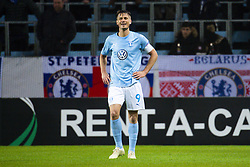 February 14, 2019 - MalmÅ, Sweden - 190214 Markus Rosenberg of MalmÅ¡ FF looks dejected during the Europa league match between MalmÅ¡ FF and Chelsea on February 14, 2019 in MalmÅ¡..Photo: Ludvig Thunman / BILDBYRN / kod LT / 92225 (Credit Image: © Ludvig Thunman/Bildbyran via ZUMA Press)
