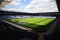 General view of the King Power Stadium before kick off  - Mandatory byline: Jack Phillips/JMP - 07966386802 - 08/08/2015 - SPORT - FOOTBALL - Leicester - King Power Stadium - Leicester City v Sunderland - Barclays Premier League