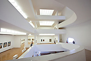 Porto Alegre_RS,  Brasil...Museu Ibere Camargo em Porto Alegre, Rio Grande do Sul. Na foto arquitetura da Fundacao Ibere Camargo, com projeto de Alvaro Siza...Ibere Camargo Museum in Porto Alegre, Rio Grande do Sul. In the photo the architecture designed by Alvaro Siza. ..Foto: JOAO MARCOS ROSA / NITRO