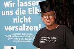 Portrait: Klaus Lehmann<br /> <br /> Ort: Gorleben<br /> Copyright: Andreas Conradt<br /> Quelle: PubliXviewinG