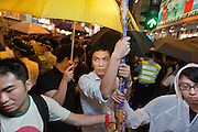 Mong Kok witnessed violent scenes as local residents and an anti-Occupy Central group attacked protesters in an attempt to end demonstrations.<br /> <br /> Sixth day of Occupy Central demonstration in Hong Kong