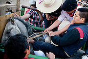 "Rancheras are originally from Mexico but most popular in rural Chile, as people gathers in a mix of rodeo, fair and music events with live groups costumed as ""Rancheros"" but playing tropical style music."