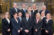 18395Corporate leaders:  Group Portrait