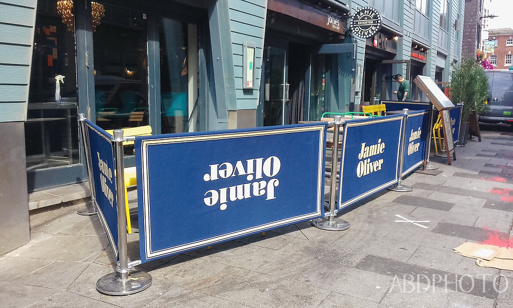 Jamie Oliver restaurant Brighton seaside resort town England