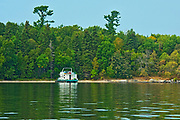 Houseboat  on Lake of the Woods<br />Kenora<br />Ontario<br />Canada