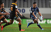 Francis Saili in action during the Blues v Chiefs Super Rugby match at Eden Park, Auckland, New Zealand. Saturday 11 July 2014. Photo: Andrew Cornaga/Photosport.co.nz