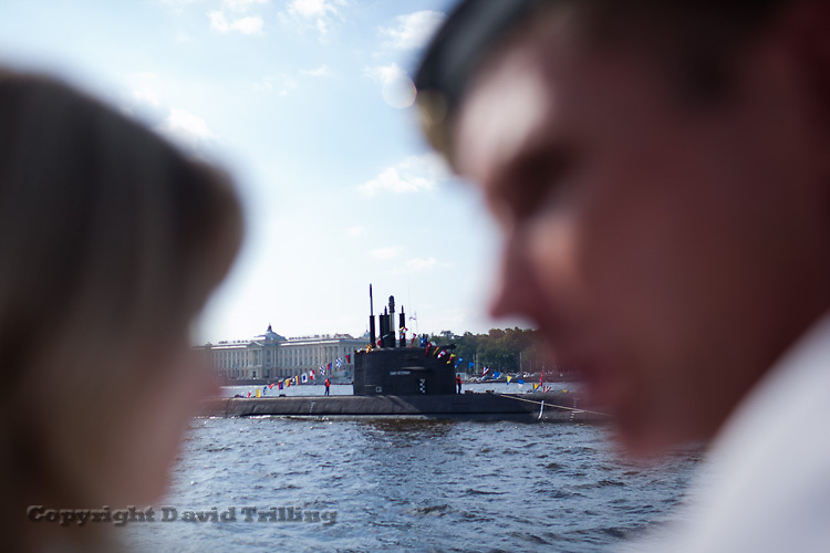 Navy Day in St Petersburg, 2013