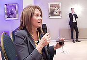 Stonewall and Liberal Democrats LGBTQ fringe meeting.<br /> Bournemouth, Great Britain <br /> 17th September 2017. <br /> <br /> Baroness Lynne Featherstone asks a question <br /> <br /> <br /> Photograph by Elliott Franks <br /> Image licensed to Elliott Franks Photography Services