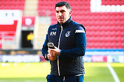 Bristol Rovers coach Kevin Maher - Mandatory by-line: Ryan Crockett/JMP - 18/01/2020 - FOOTBALL - Aesseal New York Stadium - Rotherham, England - Rotherham United v Bristol Rovers - Sky Bet League One