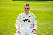 County Championship kit portrait of Ollie Sale during the Somerset County Cricket Club PhotoCall 2017 at the Cooper Associates County Ground, Taunton, United Kingdom on 5 April 2017. Photo by Graham Hunt.