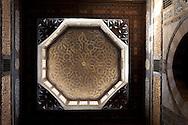 Egypt . Cairo : mosque AMIR QAGMAS AL ISHAQI in DARB el AMAR area , islamic Cairo     NM114 +