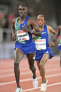 Paul Chelimo (USA) places fourth in the 10,000m in 27:43.89 during the Bauhaus-Galan in a IAAF Diamond League meet at Stockholm Stadium in Stockholm, Sweden on Thursday, May 30, 2019. (Jiro Mochizuki/Image of Sport)