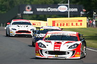 Alex Reed (GBR) / Joey Foster (GBR)  #51 Lanan Racing  Ginetta G55 GT4  British GT Championship at Oulton Park, Little Budworth, Cheshire, United Kingdom. May 30 2016. World Copyright Peter Taylor/PSP. Copy of publication required for printed pictures.  Every used picture is fee-liable. http://archive.petertaylor-photographic.co.uk
