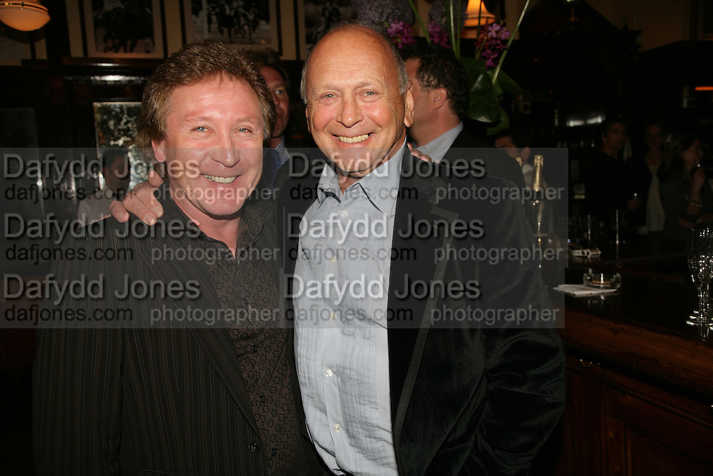 Kenny Jones and Brian Stein, PJ's Annual Polo Party . Annual Pre-Polo party that celebrates the start of the 2007 Polo season.  PJ's Bar &amp; Grill, 52 Fulham Road, London, SW3. 14 May 2007. <br />