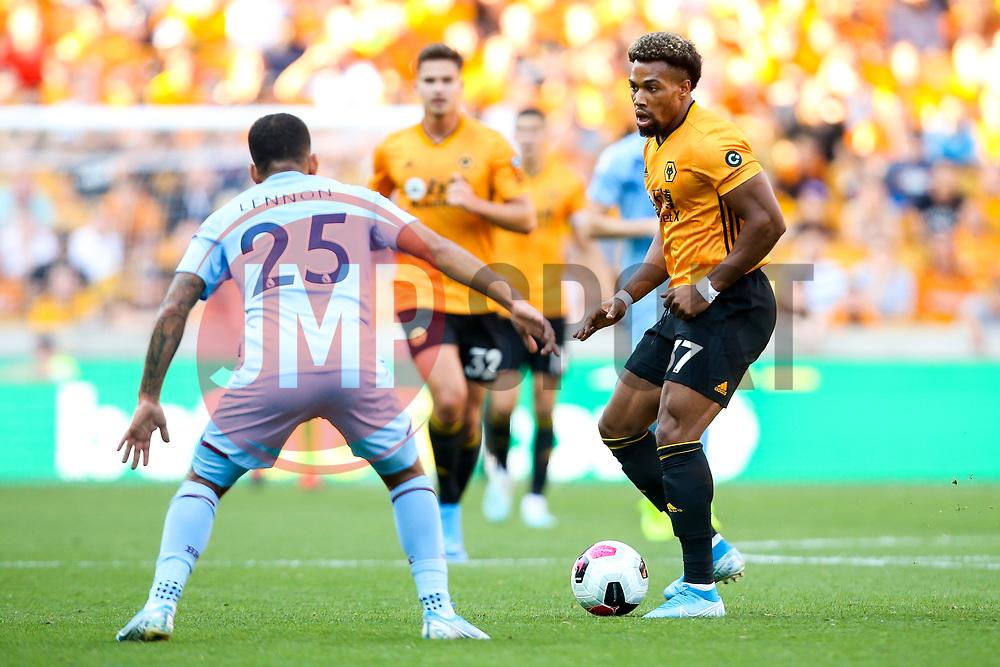 Adama Traore of Wolverhampton Wanderers - Mandatory by-line: Robbie Stephenson/JMP - 25/08/2019 - FOOTBALL - Molineux - Wolverhampton, England - Wolverhampton Wanderers v Burnley - Premier League