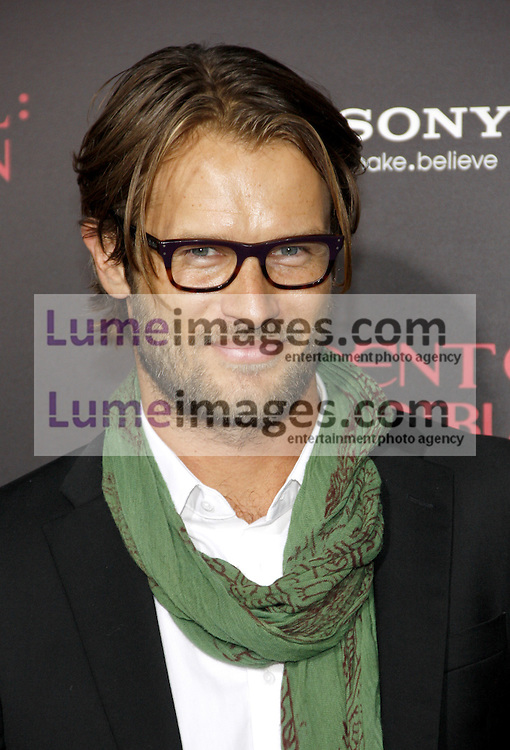 LOS ANGELES, CA - SEPTEMBER 12, 2012: Johann Urb at the Los Angeles premiere of 'Resident Evil: Retribution' held at the Regal Cinemas L.A. Live in Los Angeles, USA on September 12, 2012.