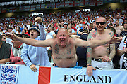 Tango Sheffield Wednesday and England fan during the Euro 2016 Group B match between Slovakia and England at Stade Geoffroy Guichard, Saint-Etienne, France on 20 June 2016. Photo by Phil Duncan.