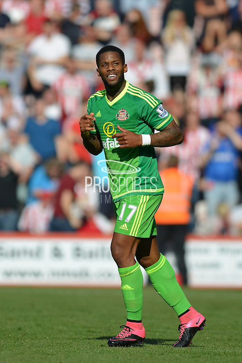Sunderland AFC midfielder Jeremain Lens during the Barclays Premier League match between Bournemouth and Sunderland at the Goldsands Stadium, Bournemouth, England on 19 September 2015. Photo by Mark Davies.