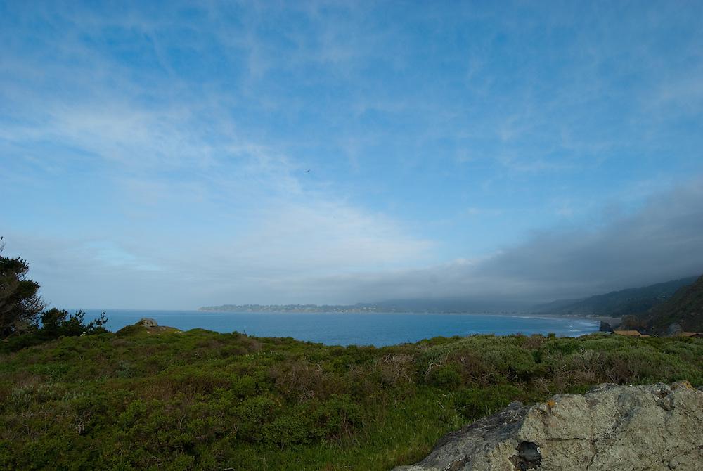 Off the coast of Mt. Tamalpais