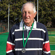 Bruce Rehn, Australia, Runner up, 70 Mens Singles competition during the 2009 ITF Super-Seniors World Team and Individual Championships at Perth, Western Australia, between 2-15th November, 2009