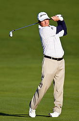 February 14, 2010; Pebble Beach, CA, USA;  Tim Clark on the second hole during the final round of the AT&T Pebble Beach Pro-Am at Pebble Beach Golf Links.