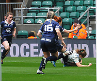 Rugby Union - 2019 (31st Women's) Varsity Match - Oxford University vs. Cambridge University<br /> <br /> Coreen Grant  of Cambridge goes over to score the winning try with minutes to go, at Twickenham.<br /> <br /> COLORSPORT/ANDREW COWIE