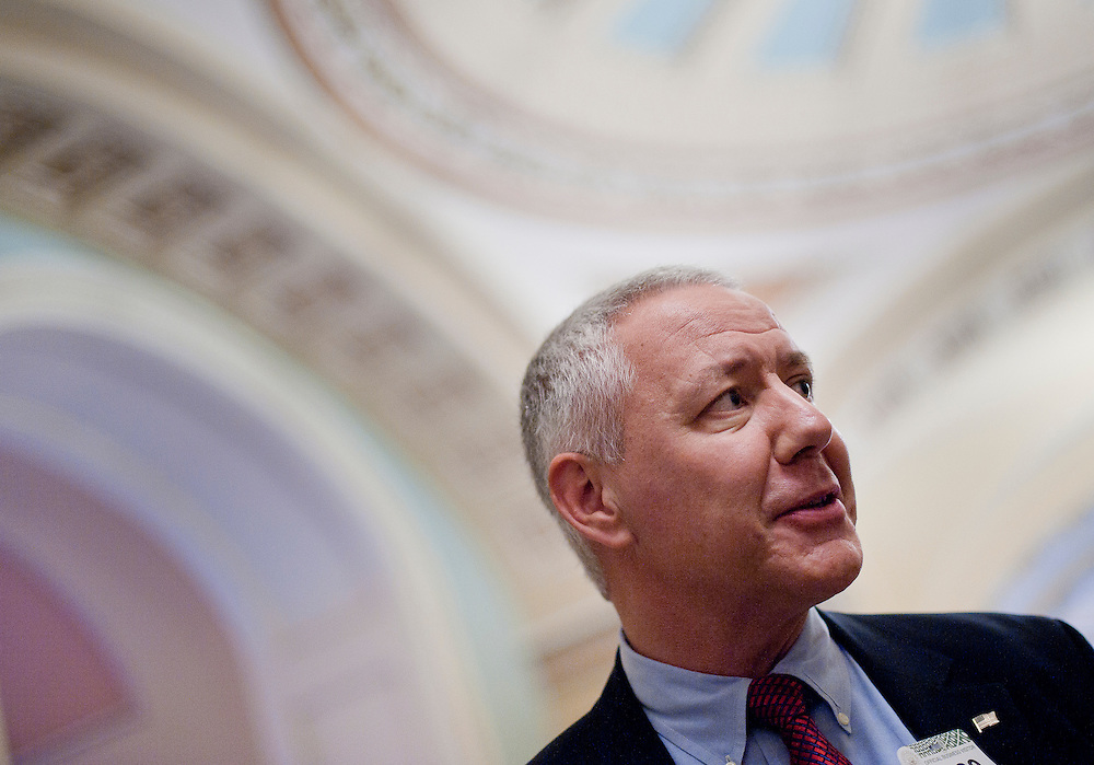 Sep 29, 2010 - Washington, District of Columbia, U.S., - KEN BUCK, the Republican nominee for the 2010 U.S. Senate race in Colorado, met with Senate Minority Leader Mitch McConnell on Capitol Hill on Wednesday. Buck is supported by the Tea Party. (Credit Image: © Pete Marovich/ZUMA Press)