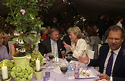 Sir Anthony Bamford, Cartier Flower show dinner, Chelsea Physic garden, 24 May 2004. ONE TIME USE ONLY - DO NOT ARCHIVE  © Copyright Photograph by Dafydd Jones 66 Stockwell Park Rd. London SW9 0DA Tel 020 7733 0108 www.dafjones.com