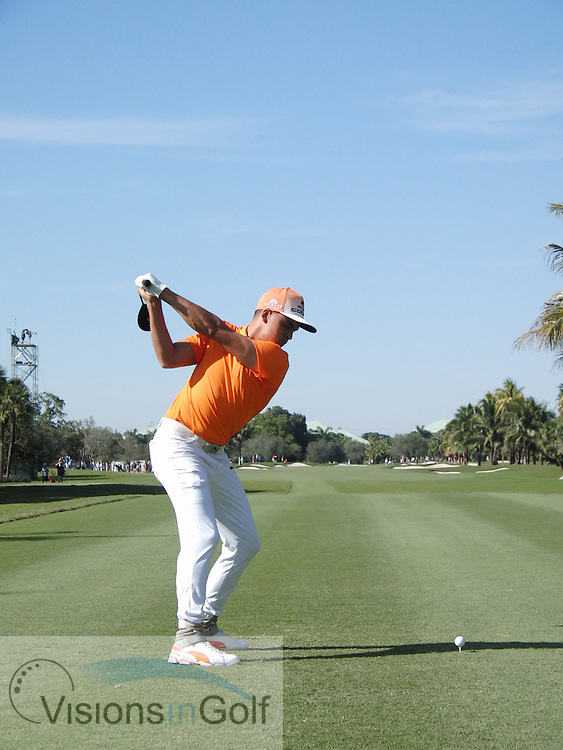Rickie Fowler<br /> High Speed Swing Sequence<br /> March 2016