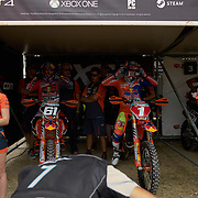 Half the season is gone and third place is more than 90 points behind these two. Jorge Prado and Pauls Jonass have dominated the MX2 class and have raced each other hard, but  fair.