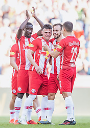 26.05.2019, Red Bull Arena, Salzburg, AUT, 1. FBL, FC Red Bull Salzburg vs SKN St. Poelten, Meistergruppe, 32. Spieltag, im Bild v.l.: Diadie Samassekou (FC Red Bull Salzburg), Christoph Leitgeb (FC Red Bull Salzburg), Andreas Ulmer (FC Red Bull Salzburg), Stefan Lainer (FC Red Bull Salzburg) // during the tipico Bundesliga master group 32th round match between FC Red Bull Salzburg and SKN St. Poelten at the Red Bull Arena in Salzburg, Austria on 2019/05/26. EXPA Pictures © 2019, PhotoCredit: EXPA/ JFK