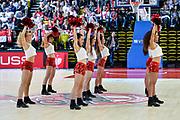 Cheerleader AS Monaco<br /> AS Monaco - Banco di Sardegna Dinamo Sassari<br /> FIBA Basketball Champions League 2016/2017<br /> Andata Quarti di Finale<br /> Principato di Monaco 22/03/2017<br /> Foto Ciamillo-Castoria