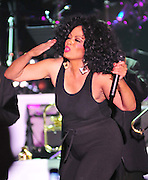 "The grand finale , after performing her last song Miss Ross struts back on stage wearing only a black tank top and black tights and blows kisses to the audience. Legendary singer, songwriter and performer Diana Ross brings down the house at her opening show of her 2011 ""More Than Yesterday"" North America Tour Friday  Feb. 25,2011 night in Philadelphia Mississippi at the  Pearl River Casino in their newly renovated 5000 seat ""Arena"". "" Miss Ross""  opened the show with "" I'm Coming OUt "" and continued to thrill for the next 90 minutes and 5 costume changes. Photo©Suzi Altman"