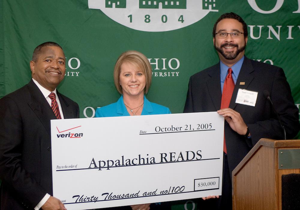17178Appalachia Reads Expand Literacy Program through Verizon Grant: Press Conference in Baker..Appalachia Reads Expand Literacy Program through Verizon Grant..Dr. McDavis,
