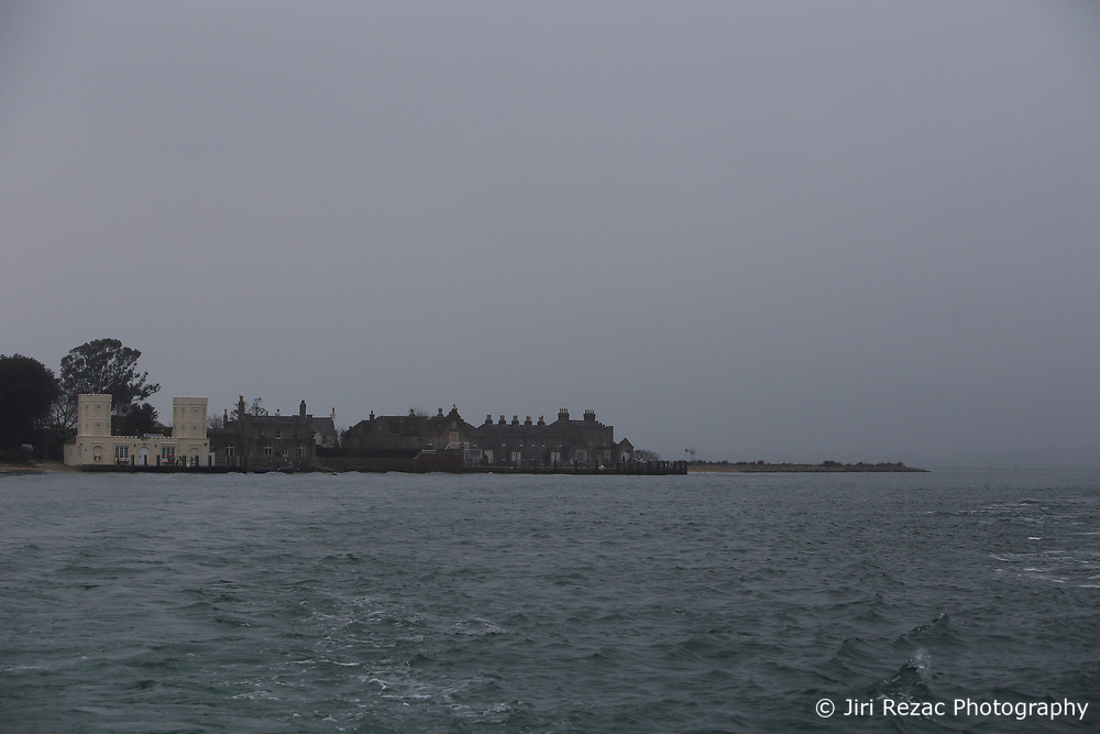 UK ENGLAND POOLE 22FEB19 - Brownsea Island in Poole Bay on the Dorest coast in foggy weather. <br /> <br /> <br /> <br /> Photo by Jiri Rezac / Greenpeace<br /> <br /> <br /> <br /> © Jiri Rezac 2019