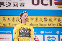 Lorena Wiebes (NED) secures the General Classification win at Tour of Chongming Island 2019 - Stage 3, a 118.4 km road race on Chongming Island, China on May 11, 2019. Photo by Sean Robinson/velofocus.com