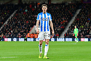 Eric Durm (37) of Huddersfield Town during the Premier League match between Bournemouth and Huddersfield Town at the Vitality Stadium, Bournemouth, England on 4 December 2018.