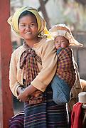 Tayatpu village near Inle Lake, Burma