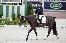 Elke Philipp, (GER), Regaliz - Team Competition Grade Ia Para Dressage - Alltech FEI World Equestrian Games™ 2014 - Normandy, France.<br /> © Hippo Foto Team - Jon Stroud <br /> 25/06/14