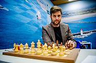 WIJK AAN ZEE - nick schilder  (NED) tijdens de derde ronde van de 81e editie van het Tata Steel Chess Tournament.  copyruyght robin utrecht