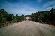 Going south on road TL48<br /> Ham Ninh, Phu Quoc Island, Kien Giang Province, Vietnam, Southeast Asia