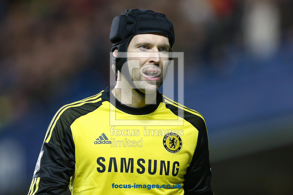 Picture by Richard Calver/Focus Images Ltd +447792 981244<br /> 19/01/2014<br /> Petr Cech of Chelsea during the Barclays Premier League match against Manchester United at Stamford Bridge, London.