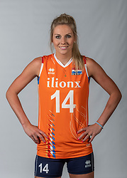 10-05-2018 NED: Team shoot Dutch volleyball team women, Arnhem<br /> Laura Dijkema #14 of Netherlands