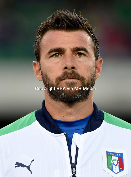 Uefa - World Cup Fifa Russia 2018 Qualifier / <br /> Italy National Team - Preview Set - <br /> Andrea Barzagli