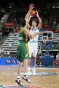 DESCRIZIONE : Madrid Spagna Spain Eurobasket Men 2007 Qualifying Round Italia Lituania Italy Lithuania<br /> GIOCATORE : Angelo Gigli<br /> SQUADRA : Italia Italy<br /> EVENTO : Eurobasket Men 2007 Campionati Europei Uomini 2007<br /> GARA : Italia Italy Lituania Lithuania<br /> DATA : 08/09/2007<br /> CATEGORIA : Tiro<br /> SPORT : Pallacanestro<br /> AUTORE : Ciamillo&amp;Castoria/E.Castoria