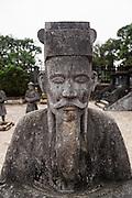 Hillside tomb of Khai Dinh. Hue, Vietnam
