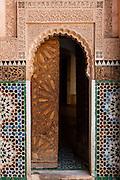 Doorway of Ben Youssef Madrasa